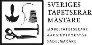 Tapetserare-föreningens logo.