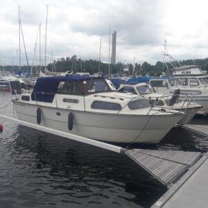 Båtkapell, levererat till kund i Slagsta, Stockholm.
