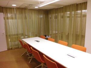 Gardiner till kontor i Stockholm.