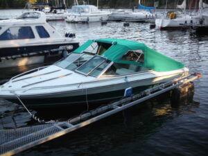 Båtkapell till dcbåt på Tyresö.