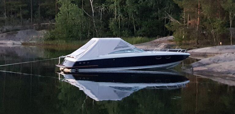Båtkapell till dcbåt (Hydrolift).