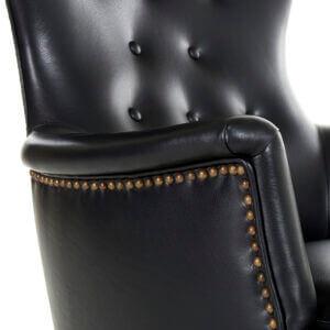 Omklädsel, fåtölj Farmor. Design: Carl Malmsten. Omklädsel av AL-Inredningar.