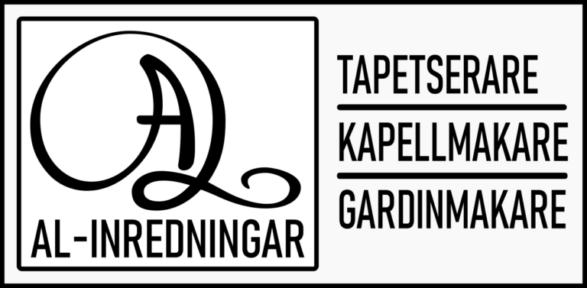 Logo Tapetserare, kapellmakare, gardinmakare.