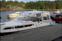 Nymonterat båtkapell.