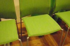 Omklädsel av ca. 30 st stolar till kontor i Stockholm.